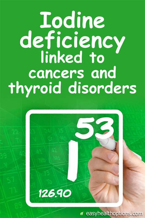 Symptoms Iodine Detox by Iodine Deficiency Linked To Cancers And Thyroid Disorders