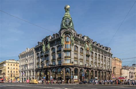 singer house highlights of nevsky prospekt the wandering wanderluster