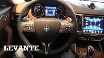 Maserati Inside 2017 Maserati Levante Interior Review