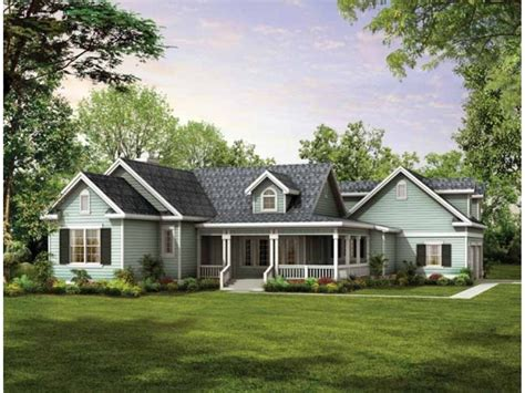 country farmhouse plans country ranch house plans with wrap around porch luxamcc