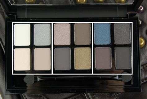 Maybeline The Rock Eyeshadow maybelline the rock eyeshadow palette review swatch and review