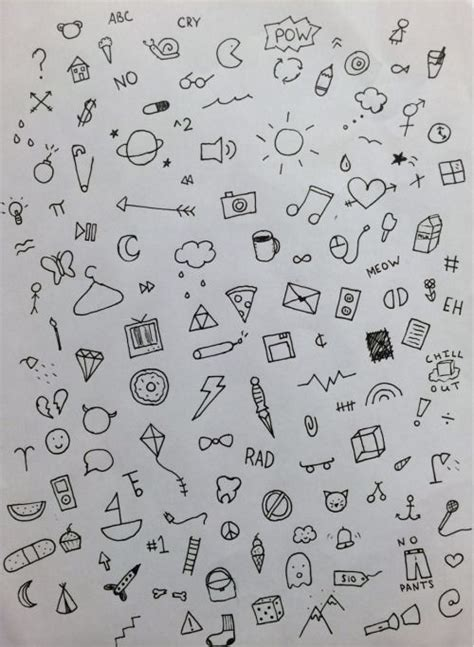 how to do doodle today 111 insanely creative cool things to draw today diy