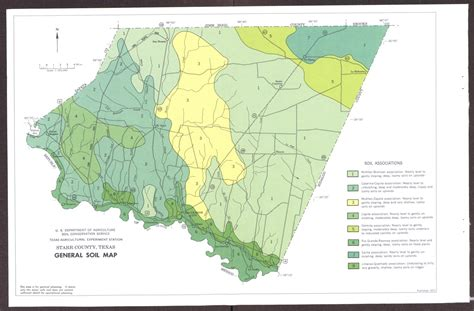 texas soil map general soil map county texas the portal to texas history