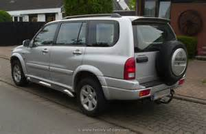 Suzuki Grand Vitara Models History Suzuki 2001 Grand Vitara Xl7 The History Of Cars