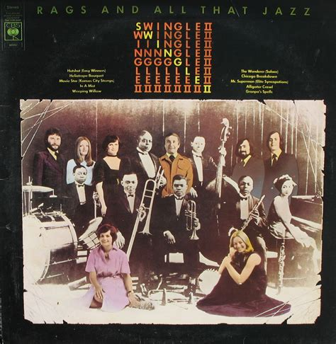 swing le swingle ii rags and all that jazz 1975 thrifty vinyl