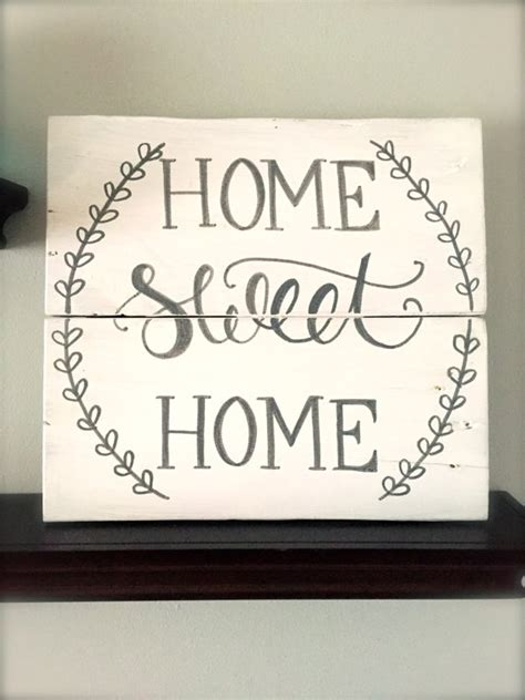 sweet home decoration rustic home decor home sweet home sign rustic pallet sign