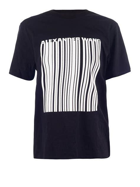 Printed Logo T Shirt logo printed jersey t shirt by wang t shirts