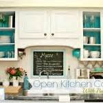 open cabinets with white aqua lime green silver accents home tour mom 4 real