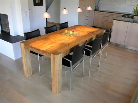 Maßgeschneiderte Esszimmer Tische by Quadratisch K 252 Chentisch Design