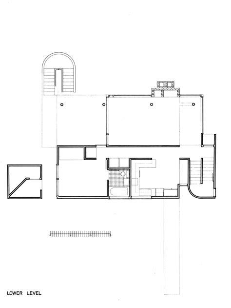 richard meier floor plans gallery of ad classics smith house richard meier