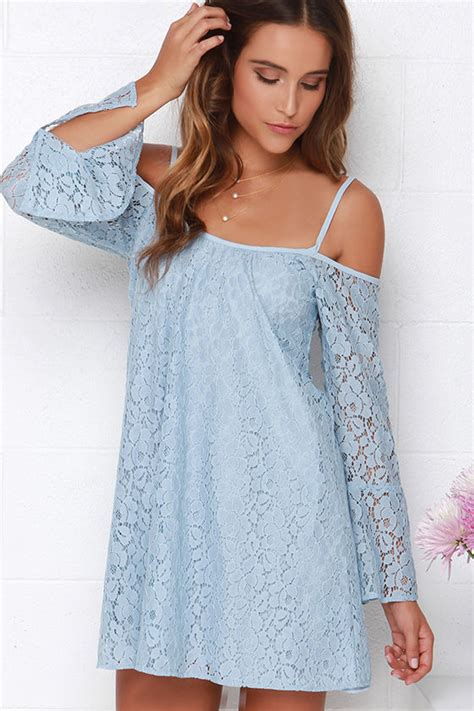 light blue lace dress with sleeves lucy love hollie light blue lace dress long sleeve