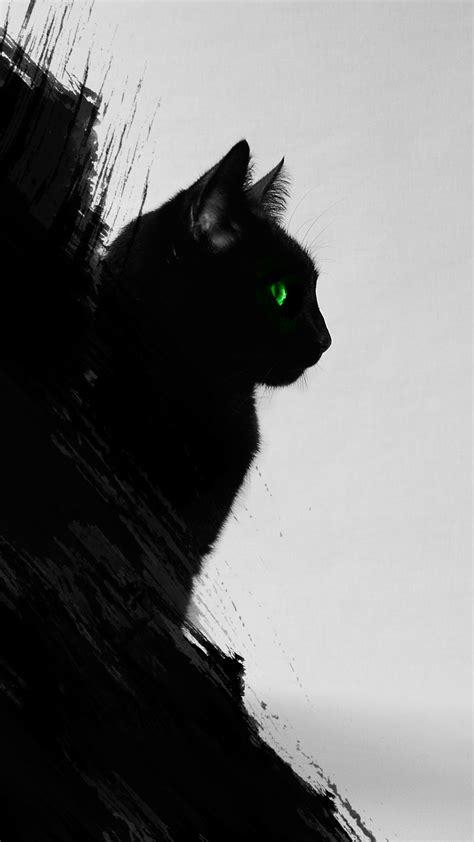 wallpaper cat iphone 6 black cat iphone wallpaper hd