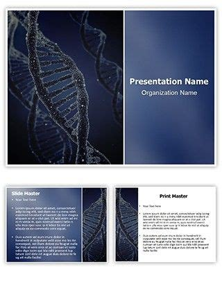 Make Great Looking Powerpoint Presentation With Our Dna Free Powerpoint Template Download Dna Great Looking Powerpoint Templates