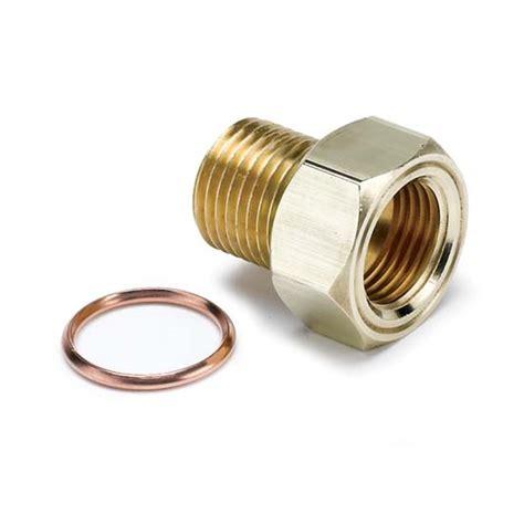 Adapter Adaptor Selang Hose End Kran Air 16mm auto meter 2275 temperature sender adapter fitting brass m16x1 5