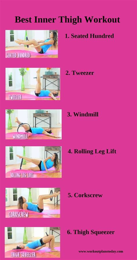 17 best ideas about inner thigh workouts on