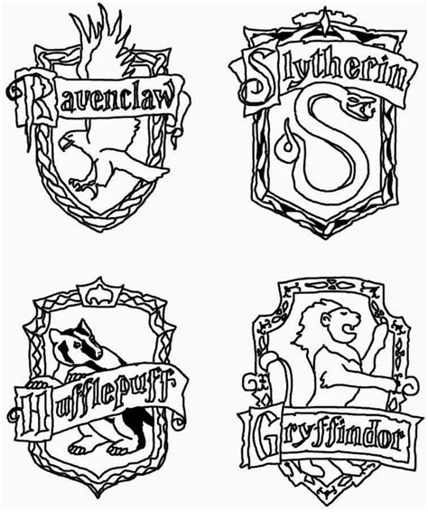 coloring pages harry potter auromas com