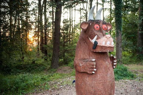 gruffalo sculpture  delamere forestry england