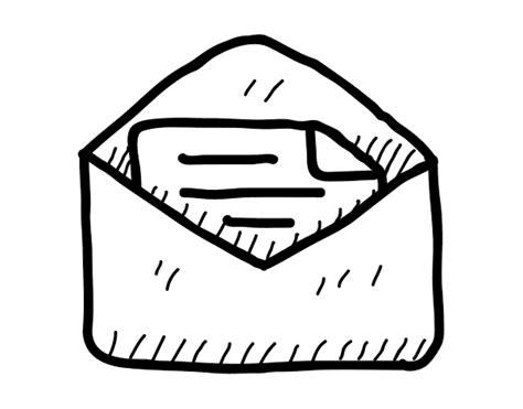 imagenes para pintar tamaño carta dibujo de carta abierta para colorear dibujos net