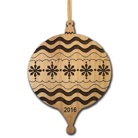 custom wood ornaments personalized by carved solutions