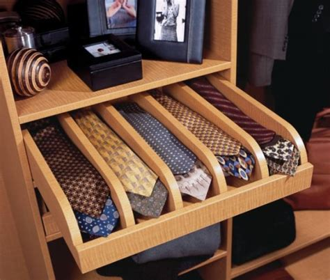 How To Store Ties In A Drawer by Closet Features That Make Storage A