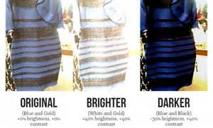 what color of is the scientists reveal why the colour of the dress divided