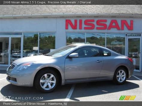 grey nissan altima coupe precision gray metallic 2008 nissan altima 2 5 s coupe