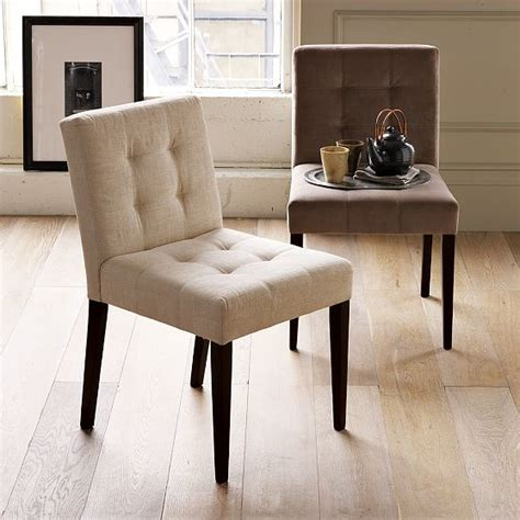 west elm dining room chairs new grid tufted dining chair modern dining chairs by