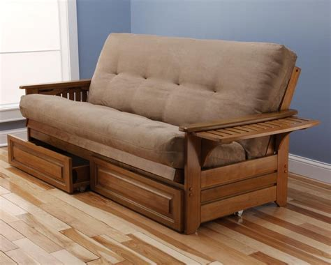 wood futon wooden frame futon sofa bed bm furnititure