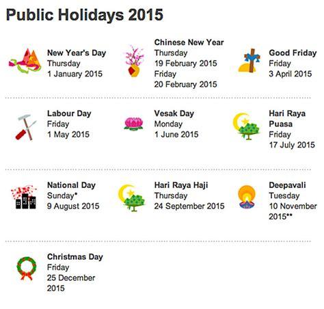 new year 2015 singapore calendar singapore holidays 2015 singapore recruitment agency