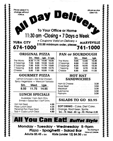 round table pizza yuba city pin by william eaves on the old straw hat pizza pinterest