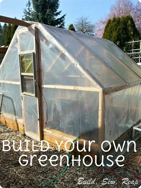 build your own backyard greenhouse hometalk build your own simple greenhouse