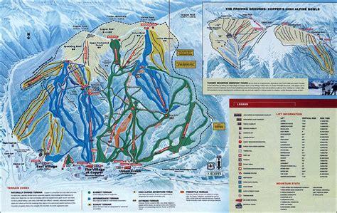 copper trail map breckenridge keystone copper ski rental delivery