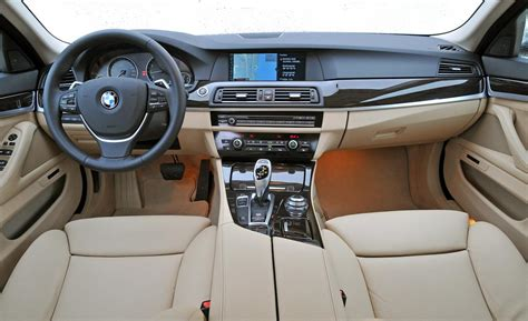 Bmw 5 Series 2011 Interior car and driver