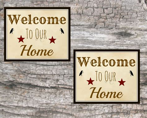 welcome home decoration welcome to our home welcome sign welcome home decor home