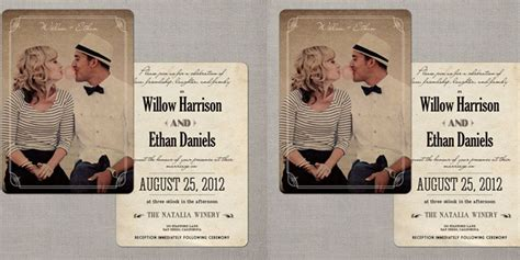 relationship contoh undangan pernikahan dengan desain poster bioskop