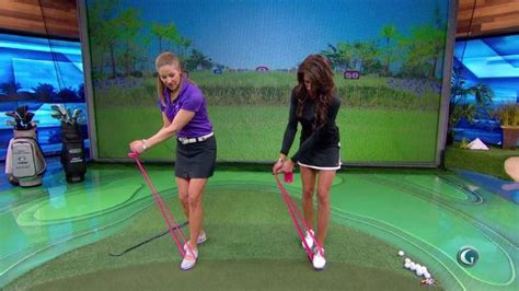 holly sonders golf swing how to cure a golf slice school of golf golf channel