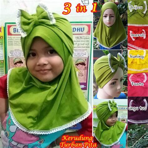 Jilbab Anak Pita Bergo Anak kerudung turban pita sg jilbab 183 sentral grosir jilbab i