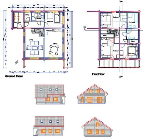 Different Types Of Building Plans | zero carbon autonomous holiday community