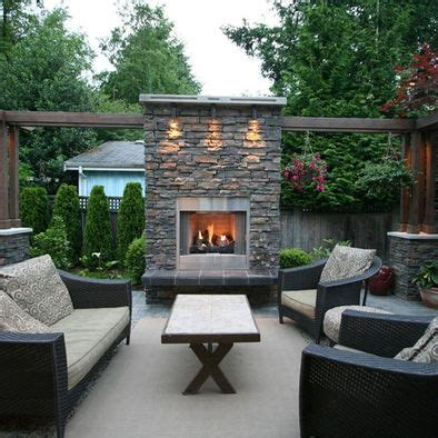 Gas Fireplace Outdoor Patio by 25 Best Ideas About Outdoor Gas Fireplace On