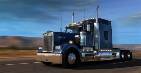 kenworth kw scs software s get to drive kenworth w900 now