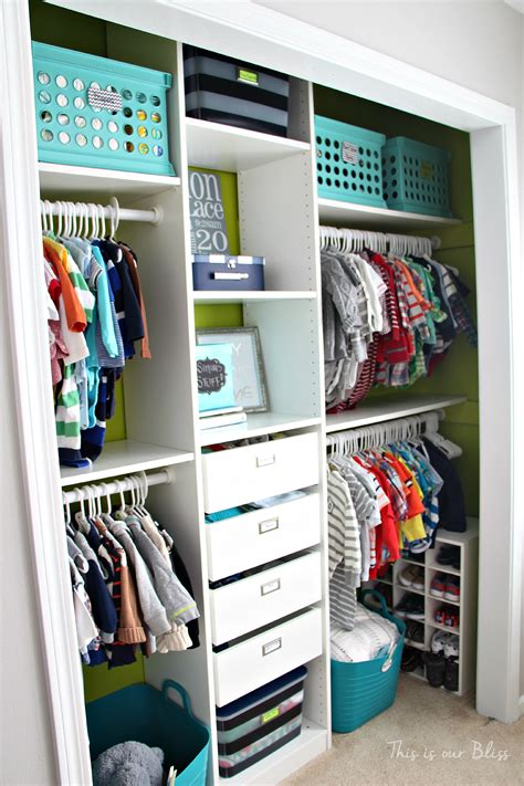 baby room in closet nursery closet makeover details how to diy a closet this is our bliss