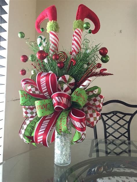 386 best christmas centerpieces images on pinterest