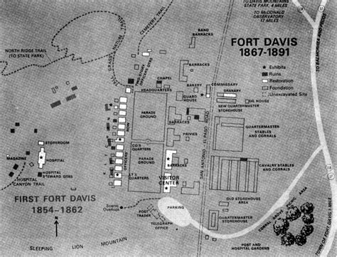 fort davis texas map fort davis nhs an administrative history chapter 1