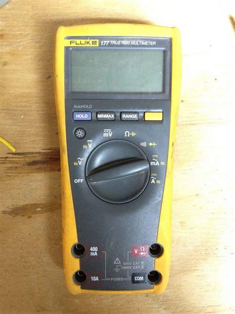 Multimeter Fluke 177 how to replace fuses in fluke 177 multimeter your