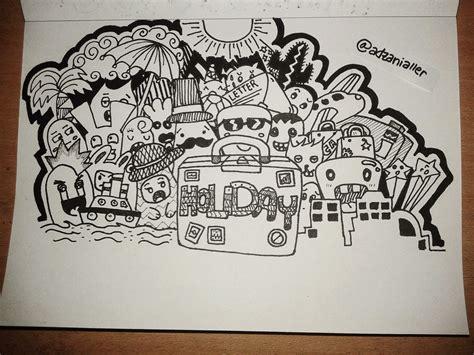 doodle lucu roller coaster doodle
