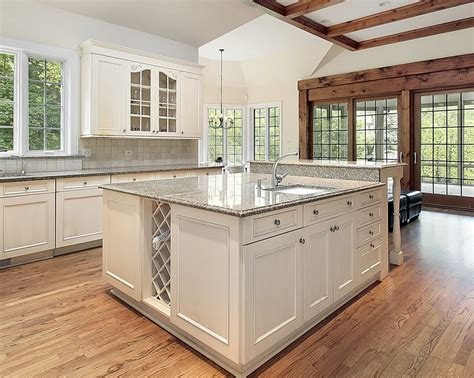 white cabinets with gray granite 81 custom kitchen island ideas beautiful designs