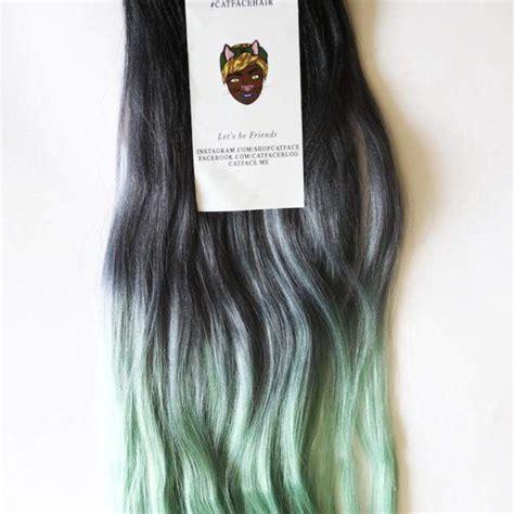 catface hair black lilac grey ombre jumbo braid hair boxbraids catface hair dark mint tea ombre jumbo braiding hair