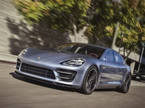 Porsche Panamera Sport Turismo Confirmed To Debut At 2016