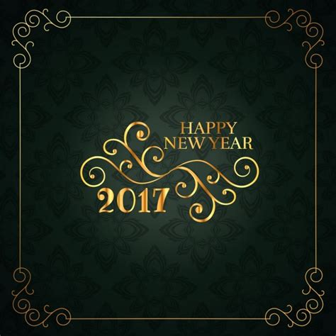 Happy New Year Card Template by 20 Free New Year Greeting Templates And Backgrounds