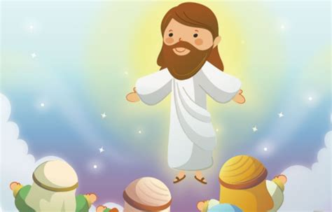 imagenes religiosas catolicas en caricatura 耶穌對一個小孩的啟發 歡笑星球